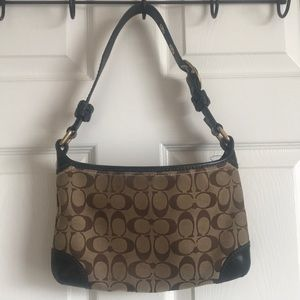COACH// Authentic small hobo purse